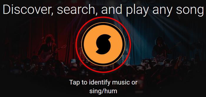Поиск музыки в онлайн-сервисе