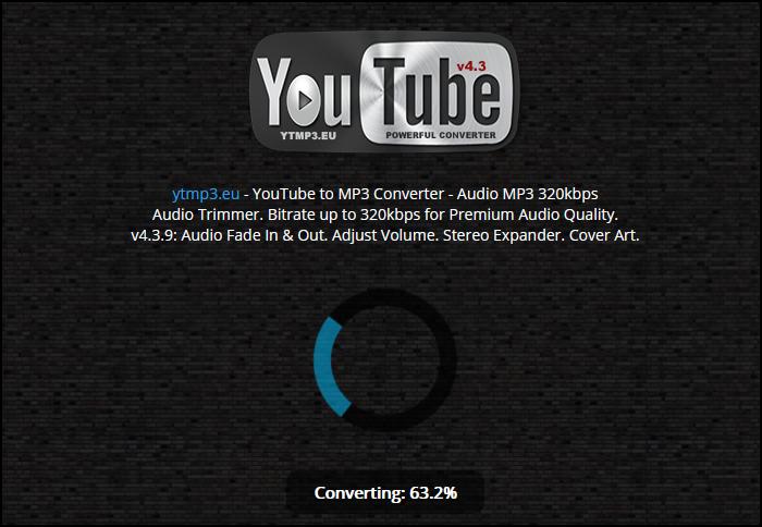 Процесс конвертации видео